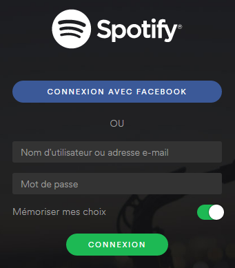 Enregistrer Spotify