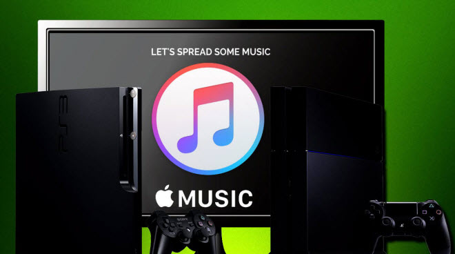 diffuser Apple Music sur PS4