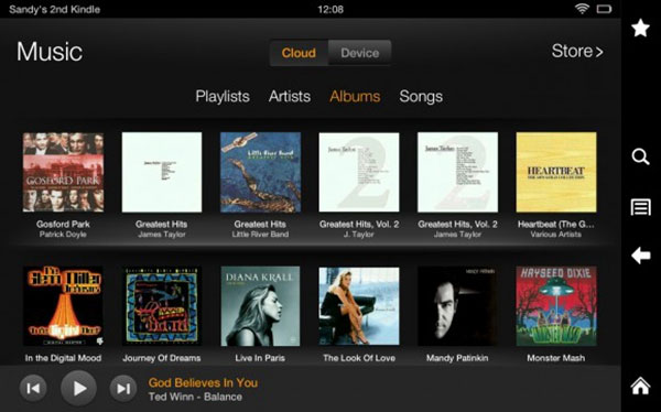 Lire Apple Music en Kindle Fire