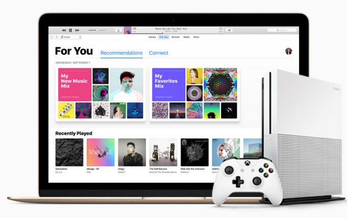 Stream Apple Music on Xbox One