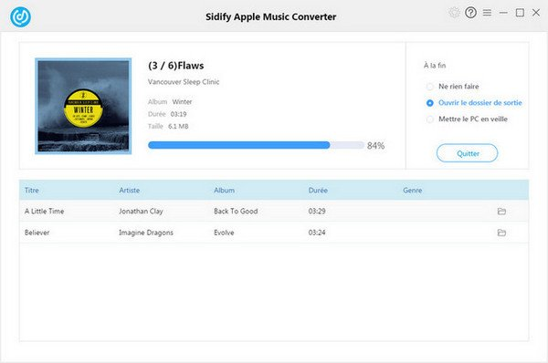 Convertir Apple Music